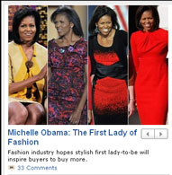 Michelle Obama in ABCNews.com screen capture, Nov. 20, 2008