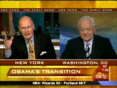 Bob Schieffer and Harry Smith, CBS