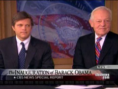 Douglas Brinkley and Bob Schieffer, CBS