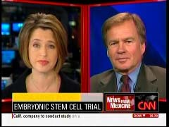 Elizabeth Cohen, CNN Senior Medical Correspondent; & Dr. Thomas Okarma, CEO of Geron Corporation | NewsBusters.org