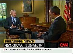 Anderson Cooper, CNN Anchor; & Barack Obama, President | NewsBusters.org