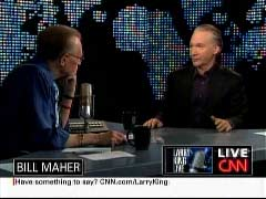 Larry King, CNN Host; & Bill Maher, Comedian | NewsBusters.org