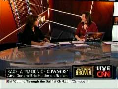 Soledad O'Brien, CNN Special Correspondent; & Campbell Brown, CNN Anchor | NewsBusters.org