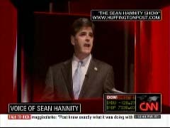 CNN graphic of Sean Hannity | NewsBusters.org