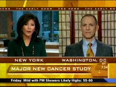 Julie Chen and Ezekiel Emanuel, CBS