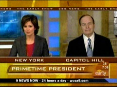 Maggie Rodriguez and Richard Shelby, CBS