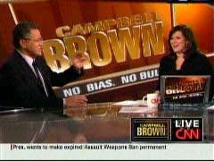 Jeffrey Toobin, CNN Senior Legal Analyst; & Campbell Brown, CNN Anchor | NewsBusters.org