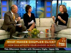 Harry Smith, Maggie Rodriguez, and Helen Fisher, CBS