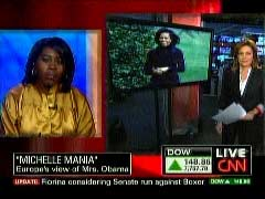Lola Adesioye, British Journalist; & Kyra Phillips, CNN Anchor | NewsBusters.org