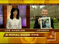 Julie Chen and Bill Plante, CBS