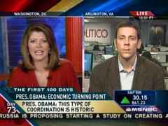 Norah O'Donnell and Jim VandeHei, MSNBC