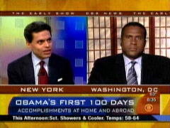 Fareed Zakaria and Tavis Smiley, CBS