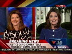 Savannah Guthrie and Norah O'Donnell, MSNBC