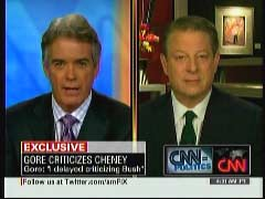 John Roberts, CNN Anchor; & Al Gore, Former Vice President | NewsBusters.org