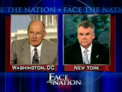Harry Smith and Peter King, CBS