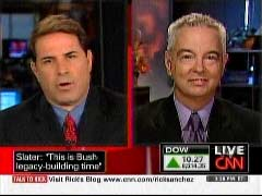 Rick Sanchez, CNN Anchor; & Wayne Slater, Dallas Morning News Political Writer | NewsBusters.org