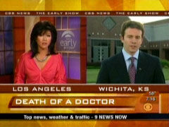 Jeff Glor and Julie Chen, CBS