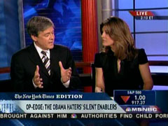 John Harwood and Norah O'Donnell, MSNBC