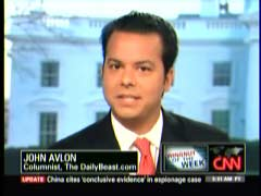 John Avlon, The Daily Beast | NewsBusters.org