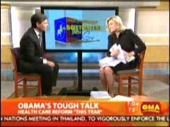George Stephanopoulos, ABC Anchor; & Diane Sawyer, ABC Anchor | NewsBusters.org
