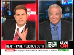 Rick Sanchez, CNN Anchor; & Rev. Jim Wallis | NewsBusters.org