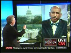 Wolf Blitzer, CNN Anchor; & RNC Chairman Michael Steele | NewsBusters.org