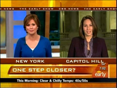 Maggie Rodriguez and Nancy Cordes, CBS
