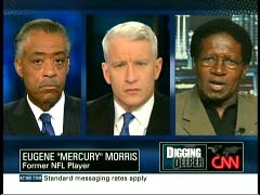 Rev. Al Sharpton, National Action Network; Anderson Cooper, CNN Anchor; & Eugene
