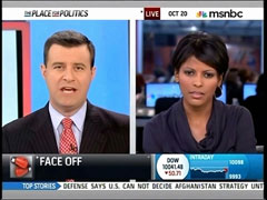 David Shuster and Tamron Hall, MSNBC