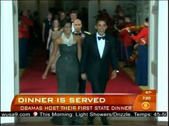 Barack and Michelle Obama, CBS