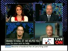 S.E. Cupp, NY Daily News Columnist; Larry Elder, Talk Show Host; Penn Jillette, Comedia; & Former Secretary of Labor Robert Reich | NewsBusters.org