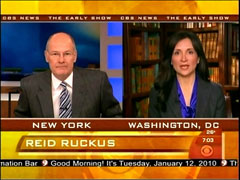 Harry Smith and Leslie Sanchez, CBS