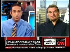 Don Lemon, CNN Anchor; & Alan Levin, CEO, Northeast Building Products | NewsBusters.org