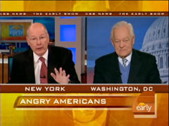 Harry Smith and Bob Schieffer, CBS