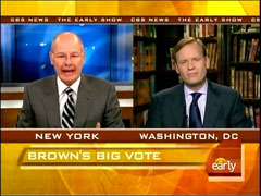 Harry Smith and John Dickerson, CBS