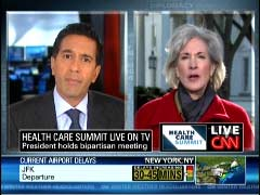 Sanja Gupta, CNN Chief Medical Correspondent; & HHS Secretary Kathleen Sebelius | NewsBusters.org