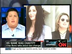 Chastity Bono, Daughter of Sonny Bono & Cher; NewsBusters.org