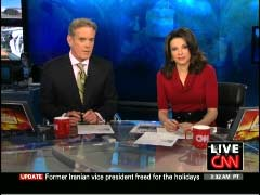 John Roberts, CNN Anchor; & Kiran Chetry, CNN Anchor | NewsBusters.org