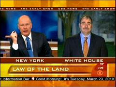 Harry Smith and David Axelrod, CBS