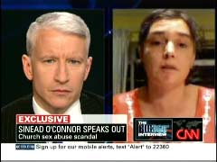 Anderson Cooper, CNN Anchor; & Sinead O'Connor, Singer | NewsBusters.org