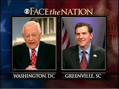 Bob Schieffer and Jim DeMint, CBS