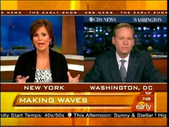 Maggie Rodriguez and John Dickerson, CBS