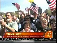 Tea Party Protest, CBS