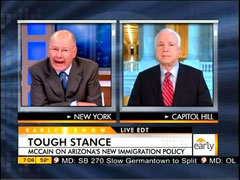 Harry Smith and John McCain, CBS
