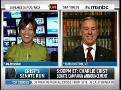 Tamron Hall and Howard Dean, MSNBC
