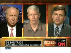 David Gergen, CNN Senior Political Analyst; Anderson Cooper, CNN Anchor; & David Brinkley, Rice University | NewsBusters.org