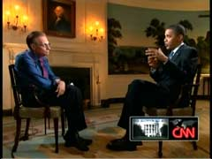 Larry King, CNN Host; & President Barack Obama | NewsBusters.org