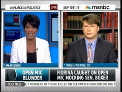 Tamron Hall and Ryan Grim, MSNBC