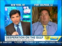 George Stephanopoulos and Billy Nungesser, ABC