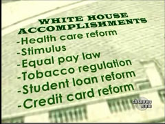 White House Accomplishments, CBS